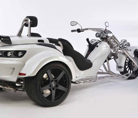 The Trike Guy - UK's No.1 Rewaco trike importer and supplier. RF1 GT Grand Tourer