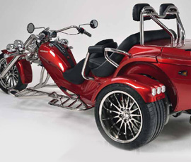 The Trike Guy - UK's No.1 Rewaco trike importer and supplier. RF1 ST-2 & RF1 ST-3 Sports Tourer